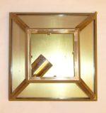 B010 plafoniera in ottone cm. 23 x 11