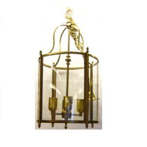 grande lanterna in ottone da interno