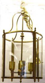 B016 lanterna in ottone dia. cm. 29 h. cm. 60