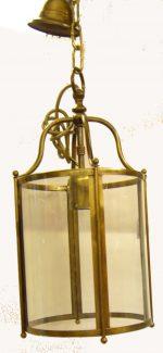 B017 lanterna in ottone dia. cm. 20 h. cm. 43