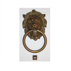 battiporta anticato con anello