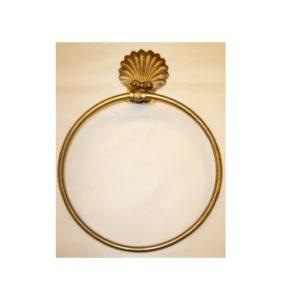 M005 anello portasciugamani con conchiglia