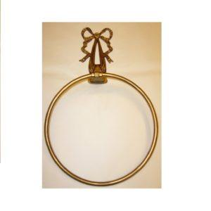M021 anello portasciugamani con nastro