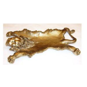 posacenere pelle di leone