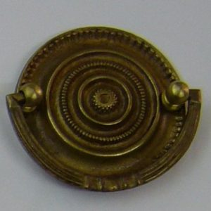 grande maniglia con semi arco in stile primo impero