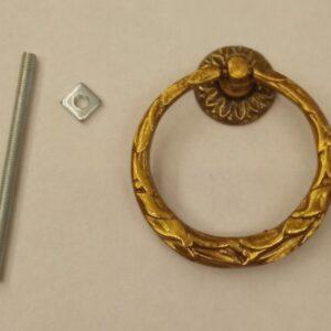anello grande decorato con festone