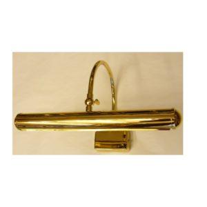 applique in acciaio dorato