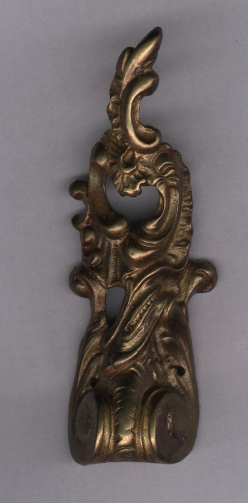 0064 brass ornament mm. 105x33