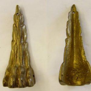 2038 brass ornamnet mm. 33 x 85