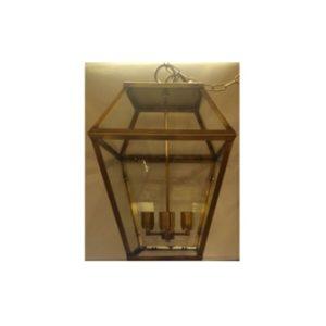 grande lanterna in ottone a 4 luci da esterno