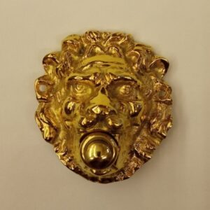 campanello leone da porta